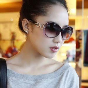 Accessories - High Quality Fashion Purple Square Sunglasses
